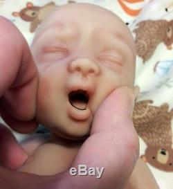 12 Born Too Soon Micro Preemie Full Body Silicone Baby Girl Doll Olivia