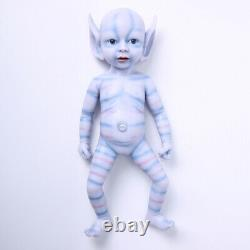 15'' Avatar Silicone Reborn Baby Small GIRL Realistic Silicone Doll Xmas Gift