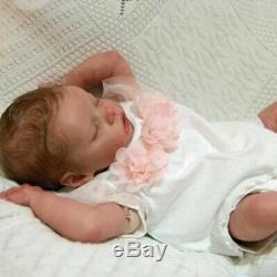 17'' Lifelike Realistic Yareli Reborn Baby Doll Girl Handmade Lifelike Doll