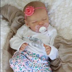 17'' Real Lifelike Journey Reborn Baby Doll Girl Toy