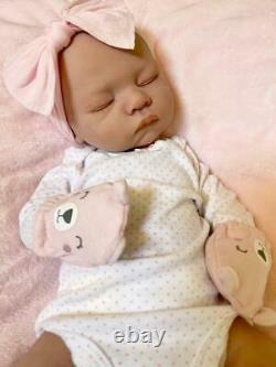 18 Full Body Silicone Reborn Baby Custom Made Girl Or Boy Artist Handmade