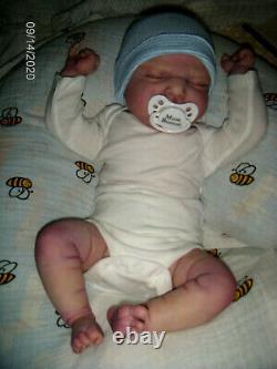 20 Inch Limited Edition Ramsey By Cassie Brace Reborn Baby Boy