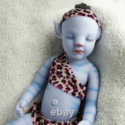 20'' Sleeping Avatar Baby Boy Full Body Waterproof Silicone vinyl Reborn Doll