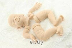 20 inch real solid silicone reborn baby doll kits parts