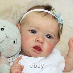 22 55cm Bebe Reborn Dolls Handmade Reborn Baby Doll Vinyl Christmas boneca