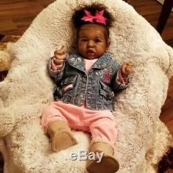 22'' cute Heidi Truly Reborn Baby Doll Girl Toy