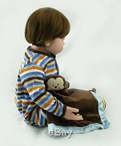 24 Reborn Twin Doll Boy&Girl Realistic Reborn Baby Dolls Toddler Kids Partner