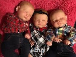 24hs Deal, Reborn Baby Dolls Joseph 3 Months, Only custom order, Realborn Baby