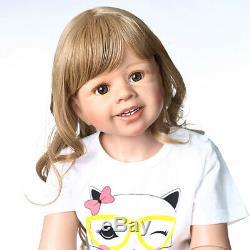 39 Large Reborn Toddler Girls Child Model Real Life Reborn Doll Girl Curly Hair
