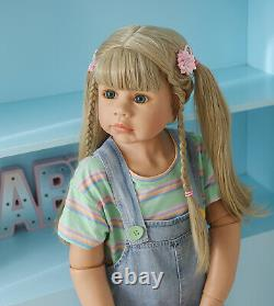 39inch Reborn Toddler Girl Dolls Full Vinyl Girl Child Mode Large Baby Dolls Toy