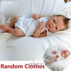 43cm Silicone Simulation Reborn Baby Doll Soft Birthday Gift Babies Doll Toy
