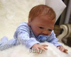 46cm/18 Handmade Reborn Doll Newborn baby Lifelike Soft Vinyl silicone