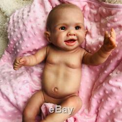 50cm Full Body Waterproof Real Silicone Reborn Baby Doll Newborn Girl Xmas Gift
