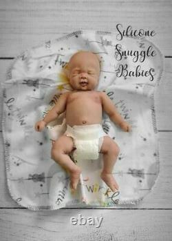 8 Micro Preemie Full Body Silicone Baby Boy Doll Cooper