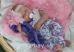 AWW! Baby GIRL LOVE! Berenguer Life Like Reborn Preemie Pacifier Doll +Extras