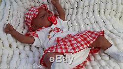 Aa Bi Racial Ethnic Baylee Complete Reborn Baby Doll Soft Silicone Vinyl
