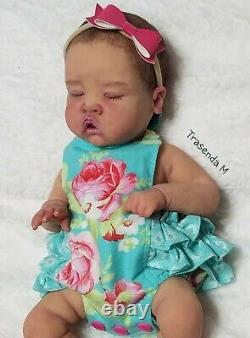 Aa Full Body Silicone Preemie Baby Michelle #2 Drink N Wet