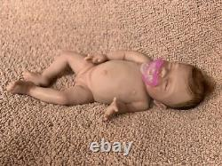Adorable 13 Inch Preemie Full Body Silicone Baby Girl Doll