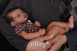 Aisha AA/Ethnic/Biracial baby girl reborn by Randee's Reborns