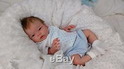 (Alexandra's Babies) FULL BODY SILICONE REBORN BABY BOY LIAM ELENA WESTBROOK