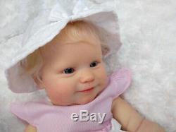 (Alexandra's Babies) REBORN BABY GIRL DOLL MADDIE BONNIE BROWN new release