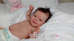 (Alexandra's Babies) REBORN BABY GIRL DOLL SUNNY by JOANNA KAZMIERCZAK