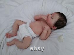 Alexandras Babies FULL BODY ASIAN SILICONE BABY GIRL INDIE LILIANNE BREEDVELD
