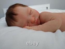 (Alexandras Babies) FULL BODY SILICONE BABY BOY BEAR by IZZY ZHAO