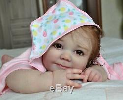 Alla's Babies Reborn Doll Baby Girl Realborn June IIORA