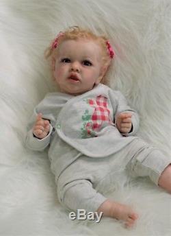 Art reborn doll Saskia by Bonnie Brown, artist Olga Konovnina, sweet babyes