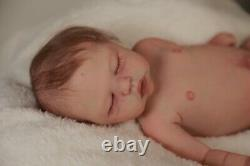 Authentic silicone baby full body boy ANDREW sculpt by Maisa Said