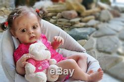 Baby Chloe by Natali Blick, reborn. 21, Artist Tsybina Natalia Sweet bun