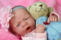 Baby Cute Girl Doll Real Reborn Berenguer 15 Vinyl Lifelike Toy Alive Newborn