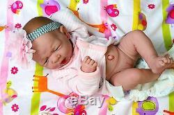 "Baby Girl Doll Realistic Reborn Berenguer 15/"" Vinyl Lifelike Toy Alive Newborn"