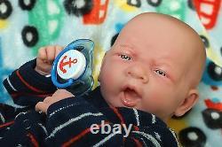 Baby Real Boy Reborn Doll Preemie Berenguer 15 Newborn Soft Vinyl Life Like