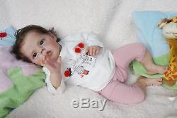 Baby Sherry by Natali Blick, reborn. 21, Artist Tsybina Natalia Sweet bun
