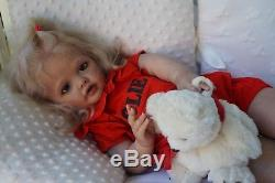 Baby todler Betty by Natali Blick reborn Artist Tsybina Natalia Sweet bun