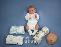 Beautiful Hand-Painted Reborn Baby Boy Ossie by Priscilla Lopes
