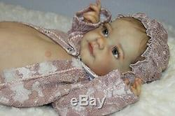 Beautiful baby rebornTobiah by Laura Lee EaglesFull LimbsGlass Eyes23