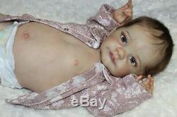 Beautiful baby rebornTobiah by Laura Lee EaglesFull LimbsGlass Eyes23