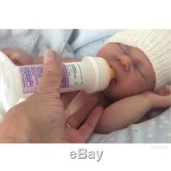 Beautiful full body silicone asleep baby boy, Faith by Cindy Lee