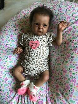 Beautiful reborn baby Tink by Bonnie Brown With COA New Pics Added