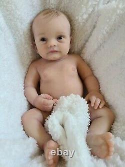 Benny by Bonnie Sebien full body eco-flex silicone baby