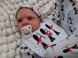 Big 7lbs J Schenk Sunbeambabies V Realistic Toddler Reborn Baby Silicone Vinyl