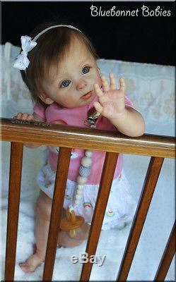 Bluebonnet Babies REBORN BABY Standing Toddler Adelaide by Andrea Arcello