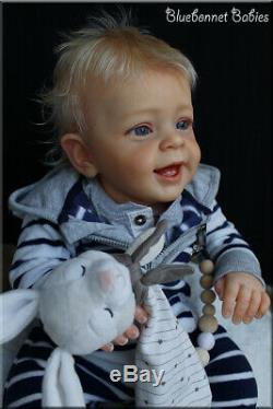 Bluebonnet Babies REBORN Blonde Toddler/Baby Boy LE Yannik Natali Blick