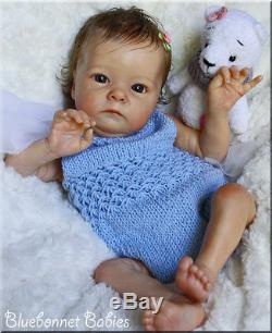Bluebonnet Babies REBORN DollNEWBORN Baby Girl Tink by Bonnie Brown LE