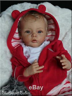 Bluebonnet Babies REBORN Newborn BABY GirlLivia Gudrun Legler! RARE HTF
