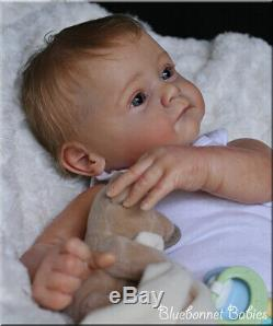 Bluebonnet Babies REBORN Newborn Baby BoylYael LE by Gudrun Legler