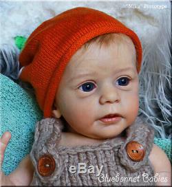 Bluebonnet Babies REBORN PROTOTYPE Mika NEW Baby Boy by Gudrun Legler